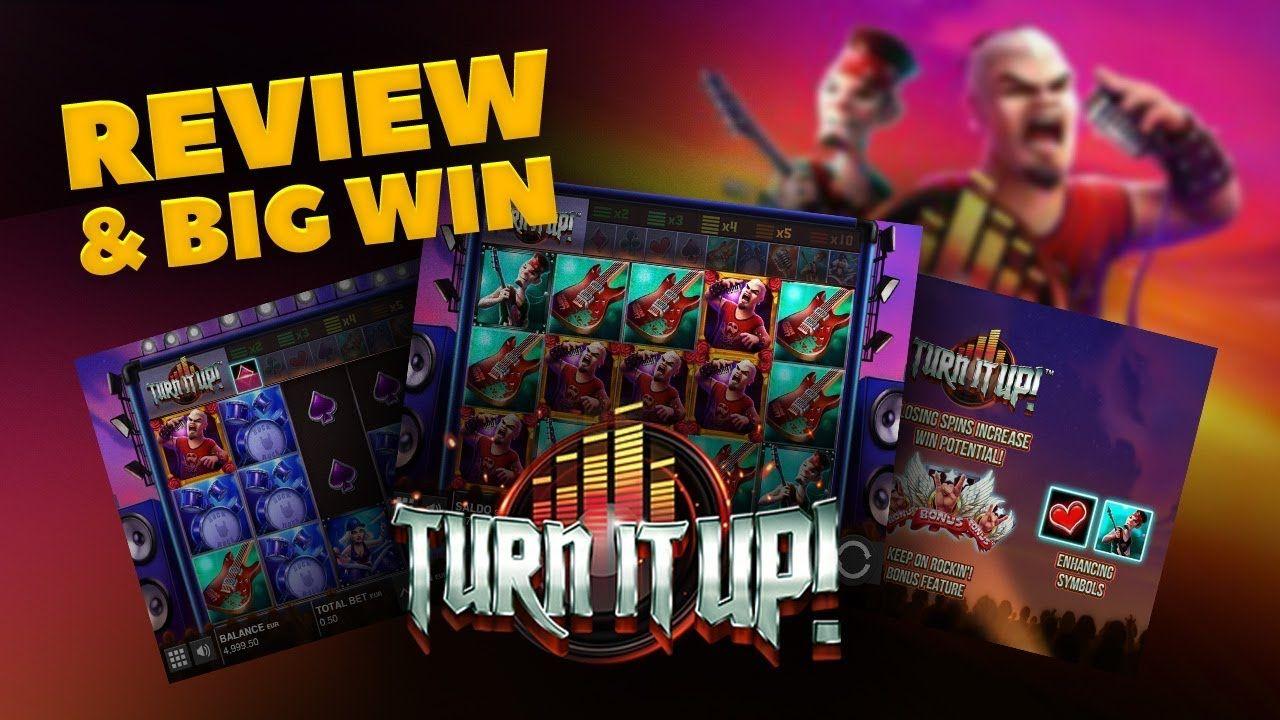 Description of the slot Turn It Up!